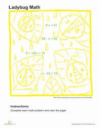 algebra coloring page 1 worksheet education com