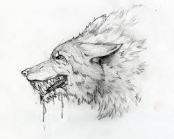 angry dire wolf by okami chantsuki on deviantart