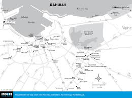 Kahului Airport Map Printable Travel Maps Of Maui Moon Travel Guides