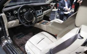 roll royce car inside rolls royce wraith price modifications pictures moibibiki
