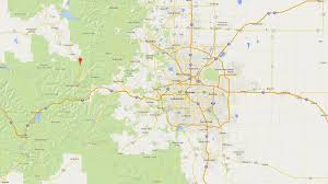 Littleton Colorado Map by Drive To Winter Park