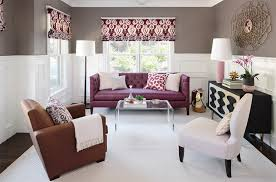 Living Room With Purple Sofa Purple Sofa Decor Ideas To Mix Match Your Living Room
