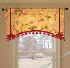 Windows Treatments Valance Decorating Valance Idea Style Only Different Fabric And Trim Window