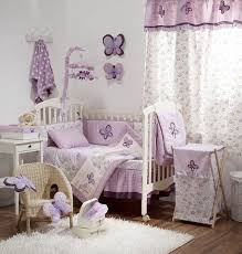 baby room ideas with a striking pink decor throughout the