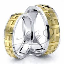 matching wedding bands his and hers wedding ring sets for him with lifetime warranty