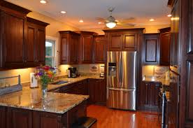 Toaster Oven Under Counter Mount Kitchen Wonderful Kitchen Cabinets Ideas With Brown Varnished