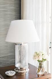 Crystal Desk Lamp by Herringbone Crystal Table Lamp Ethan Allen Herringbone Crystal