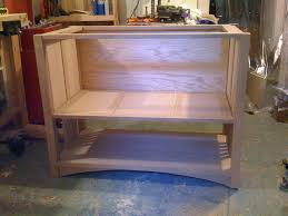 first project arts and crafts bathroom vanity by ncrumet