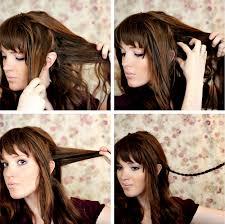 tutorial mengikat rambut kepang tutorial model kepang rambut bando modern model rambut dan gaya