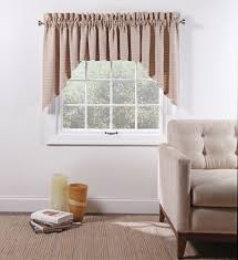 Lined Swag Curtains Boxwood Woven Lined 3 Piece Curtain Set Curtain U0026 Bath Outlet