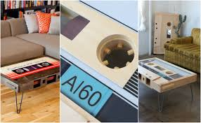 cassette tape coffee table for sale hb loves cassette tape coffee tables from taybles