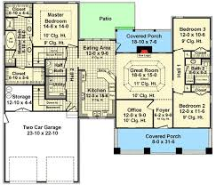 3 Bedroom Bungalow Floor Plans 42 Best House Plans 1500 1800 Sq Ft Images On Pinterest Small