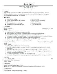 classic resume exle welder resume exles welder resume exle infinite welder