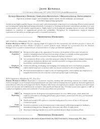 Hr Objective In Resume Hr Resume 2 Senior Human Resources Manager Resume Hr Generalist
