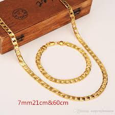 gold filled necklace images Womens mens chain 14k golden gf chain curb link yellow solid gold jpg