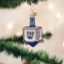 noble gems dreidel ornament glass ornament ornament