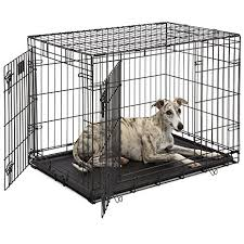 Truck Bed Dog Crate Amazon Com Midwest Life Stages Folding Metal Dog Crate Pet