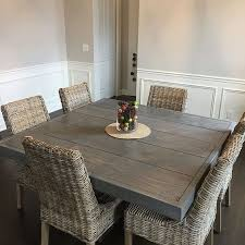 Square Wood Dining Tables Best 25 Square Tables Ideas On Pinterest Square Dinning Room