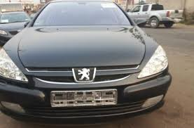 black peugeot for sale used peugeot 607 2006 black for sale
