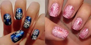 easy winter snowflake nail art ideas u0026 designs 2012 2013 for girls