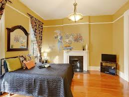 bedroom stunning yellow wall painted master bedroom decor with