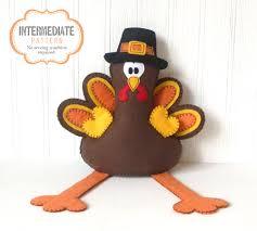 thanksgiving turkey for sale turkey sewing pattern felt turkey stuffed animal pattern