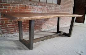 Dining Room Furniture St Louis by Walnut Slab Live Edge Table Rustic Dining Room St Louis By