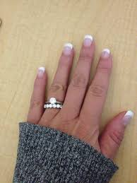 solitaire engagement ring with wedding band 43 best wedding rings images on solitaire