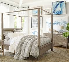 Canopy Bedding Farmhouse Canopy Bed Pottery Barn