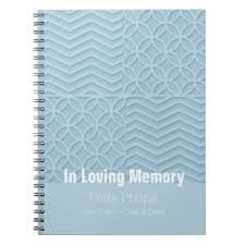 memorial service guest books funeral memorial book gifts on zazzle