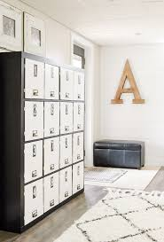 A Bookcase Ikea Hack How To Turn A Bookcase Into Lockers Little House Of