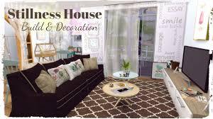 Decoration Taste Sims 4 Stillness House Build U0026 Decoration Part2 Youtube