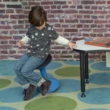 regency seating grow blue height adjustable wobble stool 1700be