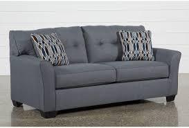 Brown Sofa Sleeper Chilkoot Gunmetal Sofa Sleeper Living Spaces