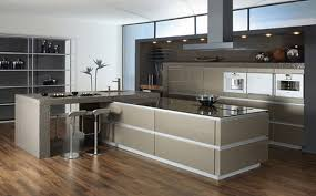 beautiful contemporary kitchen design 2015 with glass backsplash