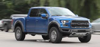 ford raptor logo spyshots 2018 ford f 150 raptor subtle changes