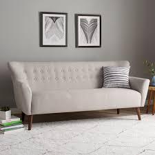Langley Street Gabrielle MidCentury Modern Sofa  Reviews Wayfair - Sofa mid century modern