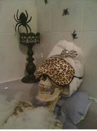 halloween decor skeleton relax inspired by marthastewart com