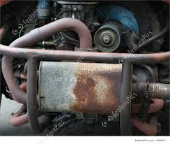 old rusty volkswagen auto transport rusty car engine stock picture i1298437 at
