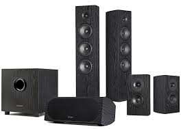 nht home theater speakers pioneer sp pk52fs andrew jones 5 1 channel speaker package