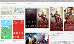galaxy themes store apk samsung galaxy s6 themes store hands on
