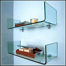 Decorative Wall Shelves For Bathroom The Right Spots To Mount The Gorgeous Glass Bathroom Shelves