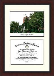 of michigan diploma frame of michigan legacy scholar college graduate home 19x27