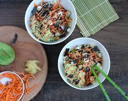 sriracha mayo sushi sushi bowls
