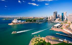 travel wallpaper images Downtown sydney australia wallpapers hd wallpapers id 8516 jpg