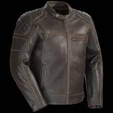 padded leather motorcycle jacket cortech dino u0026 bella leather jackets retro style for men u0026 women