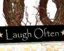 laugh sign etsy
