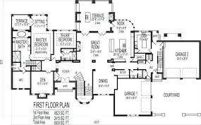 5 bedroom house plans with basement awesome 5 bedroom 3 bathroom house ideas dallasgainfo