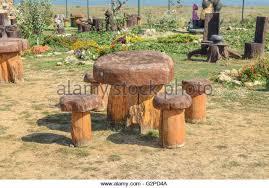 Stump Chair Stump Chair Wooden Table In Stock Photos U0026 Stump Chair Wooden