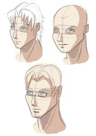 the manga me manga face practice 3 4 view